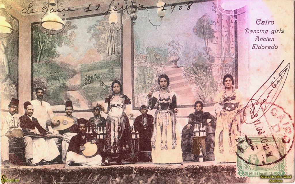 Danzatrici al Cairo nel 1908