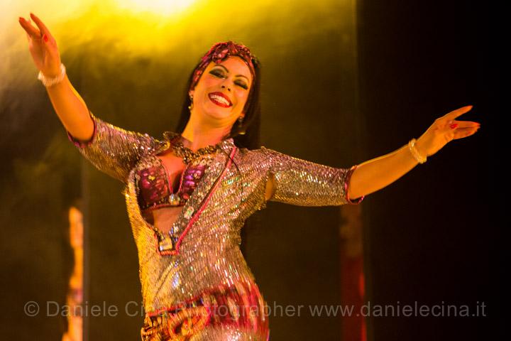 Surayia in baladi dress
