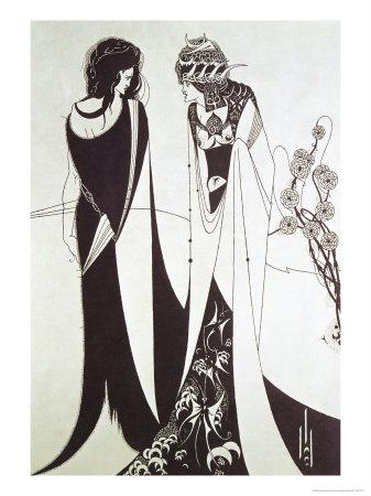 Salome by Aubrey Beardsley - ladanzaorientale