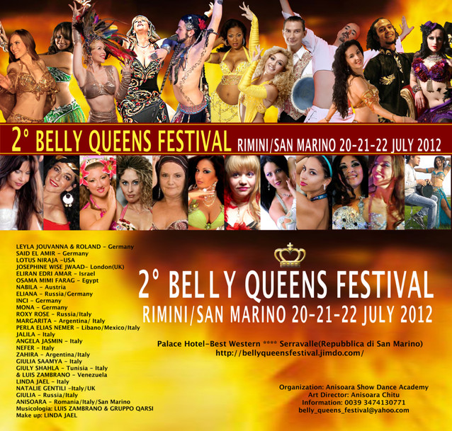 Belly Queens Festival - ladanzaorientale