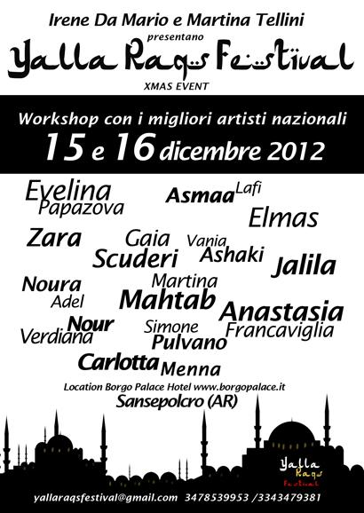 Yalla Raqs Festival 2012 - artisti ospiti