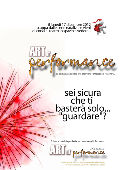 Art of Performance by Perla Elias Nemer