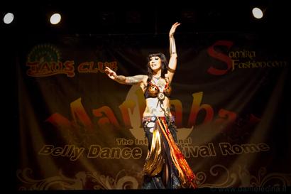 Sharon Kihara @Marhaba! Festival in Rome