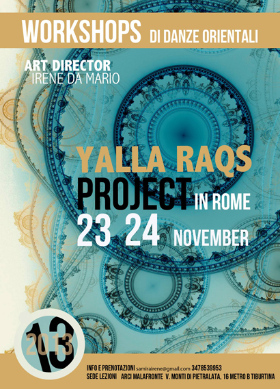 Yalla Raqs Project in Rome III edition