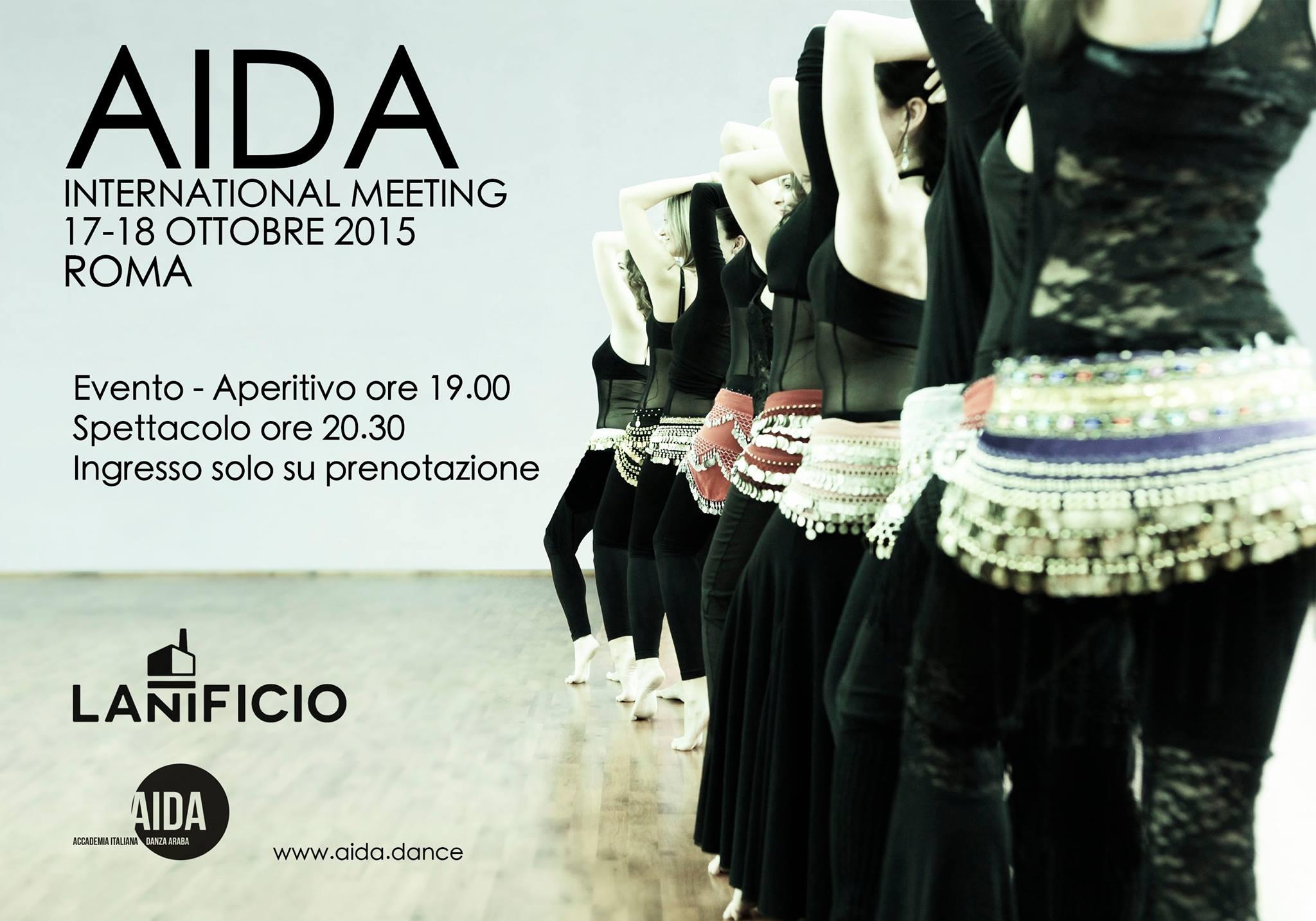 Aida international meeting al via due giorni per for Musica orientale famosa